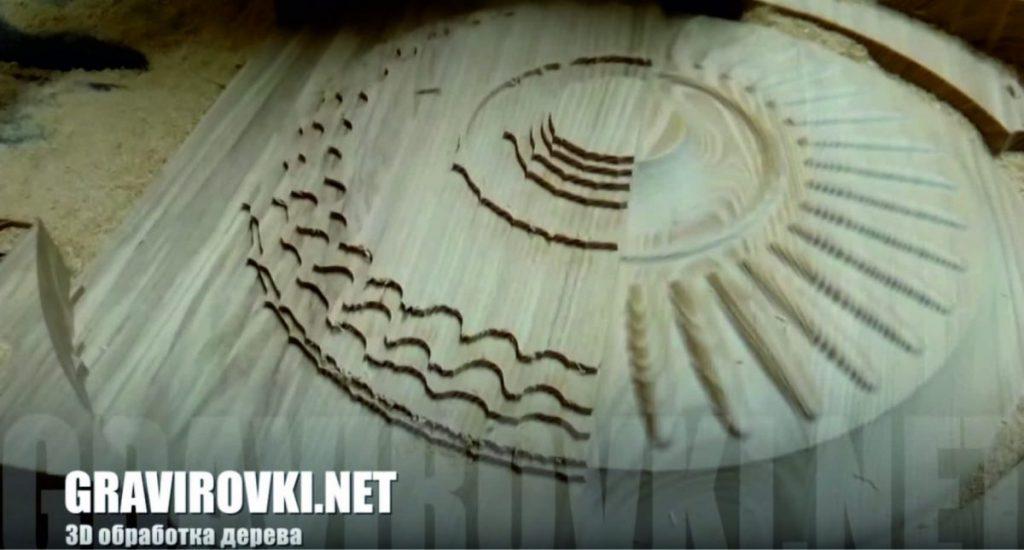 3D фрезеровка дерева