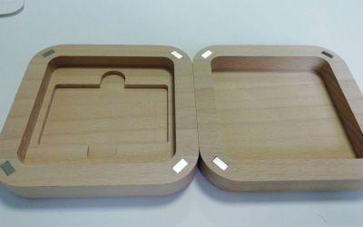 Изготовление деревянной коробки на магнитах