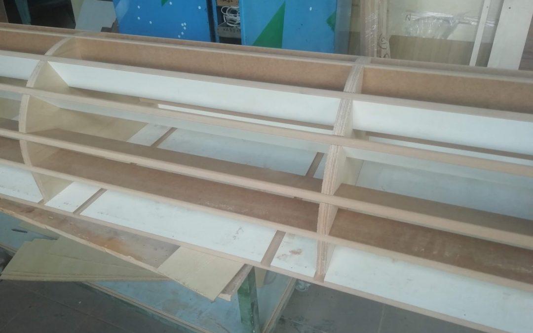 Изготовление форм и матриц для гнутых ( радиусных ) фасадов