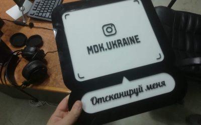 Изготовление Instagram-визиток. Инстаграм визитки от производителя.