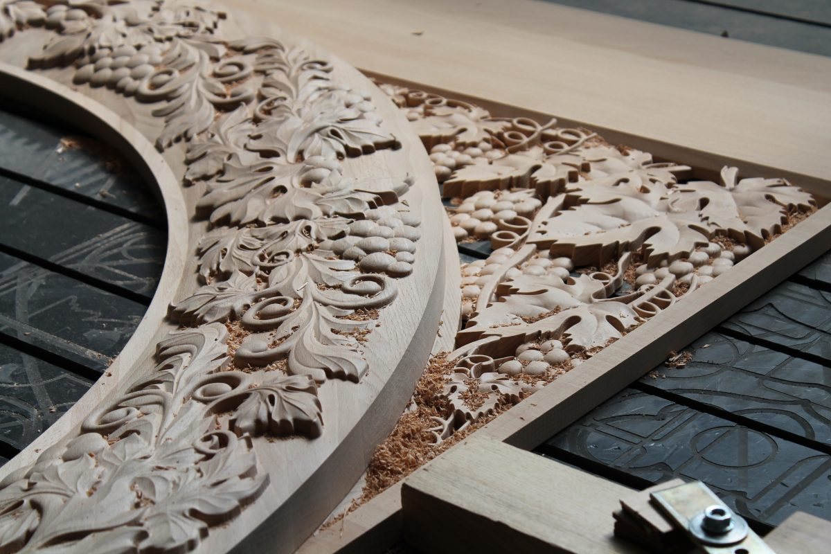 3D фрезеровка массив дерева