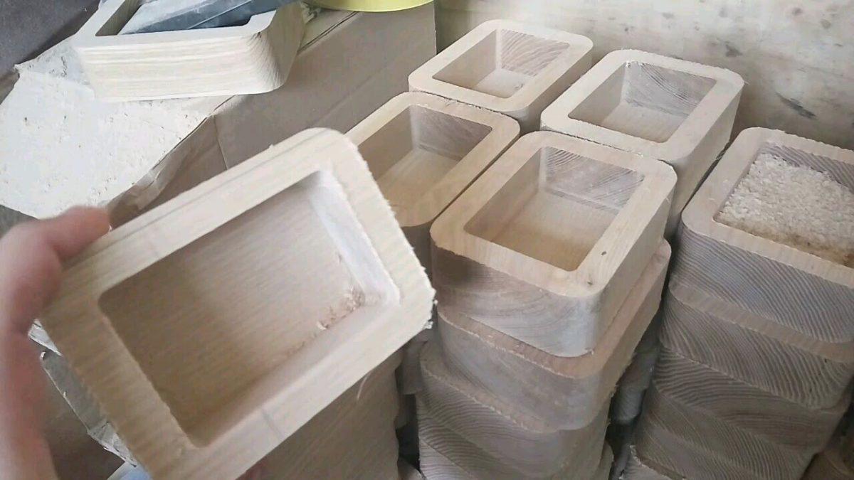 фрезеровка коробок из массива