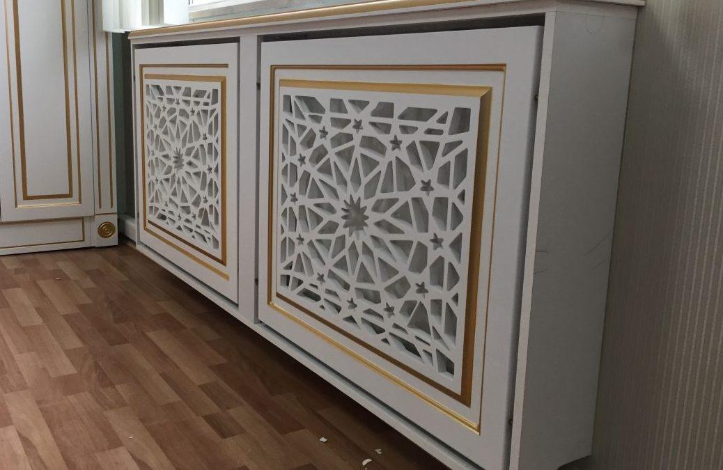 Изготовление декоративных решеток из ДСП и ЛДСП