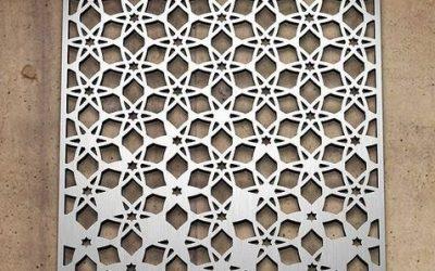 Изготовление декоративных решеток из композитных материалов