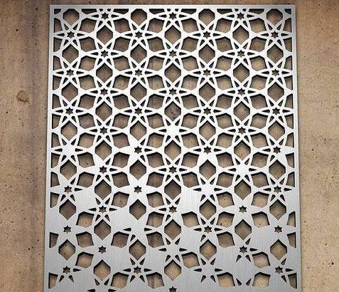 декоративная панель из композита