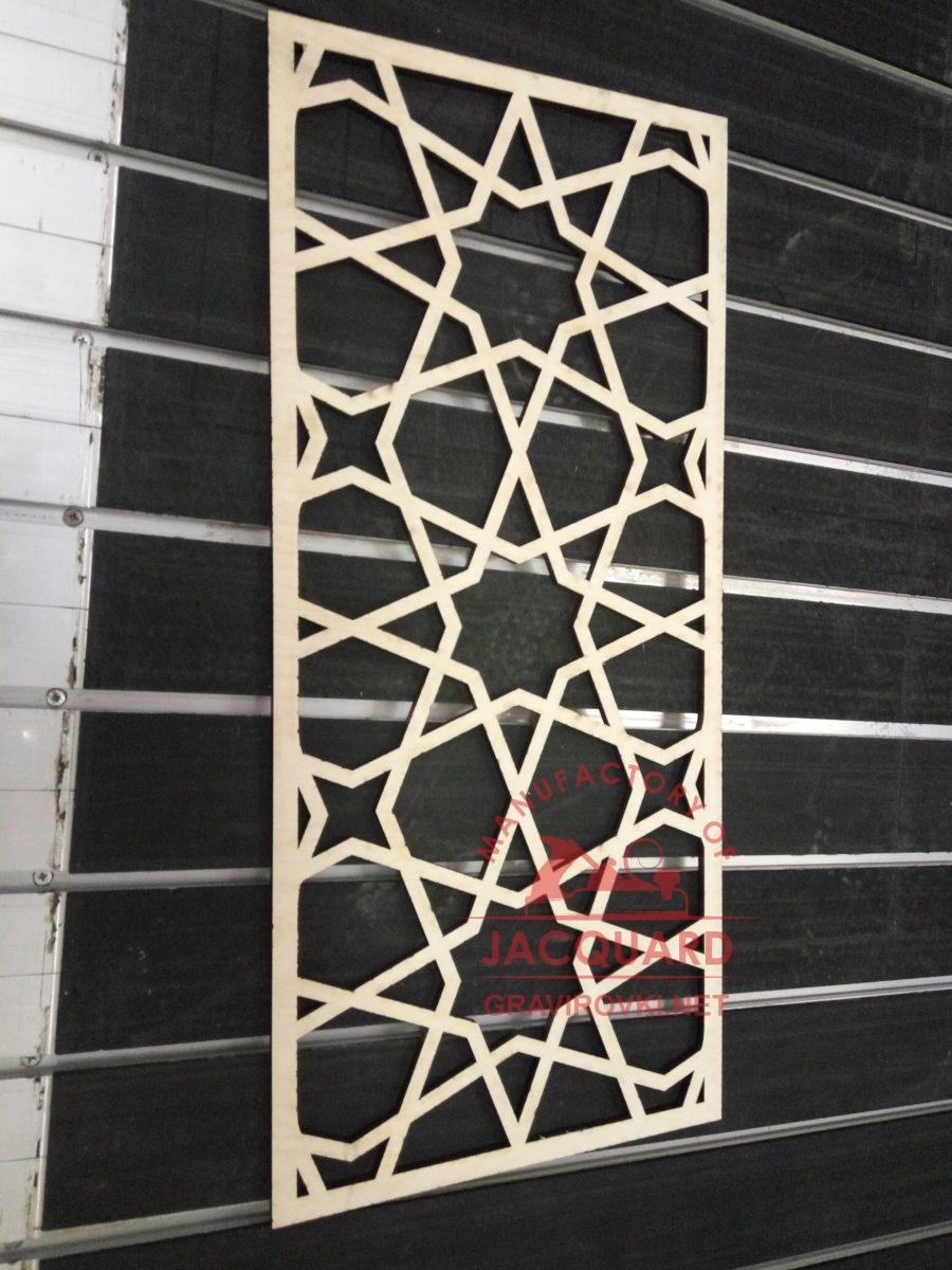 лазерная резка декоративных панелей