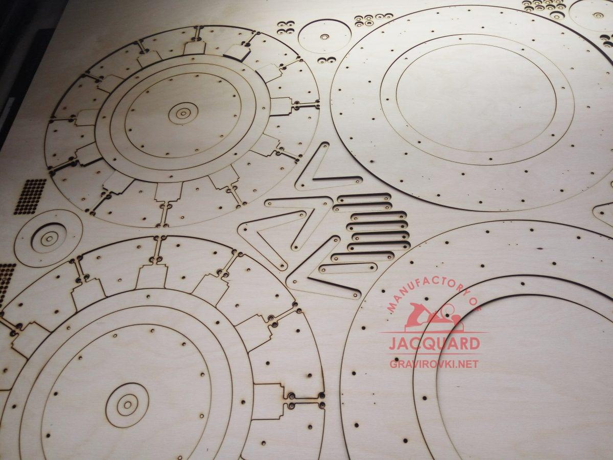 лазерная резка конструктора из фанеры