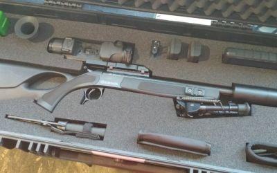 Изготовление ложемента для снайперской винтовки. Ложементы из поролона и пластика.