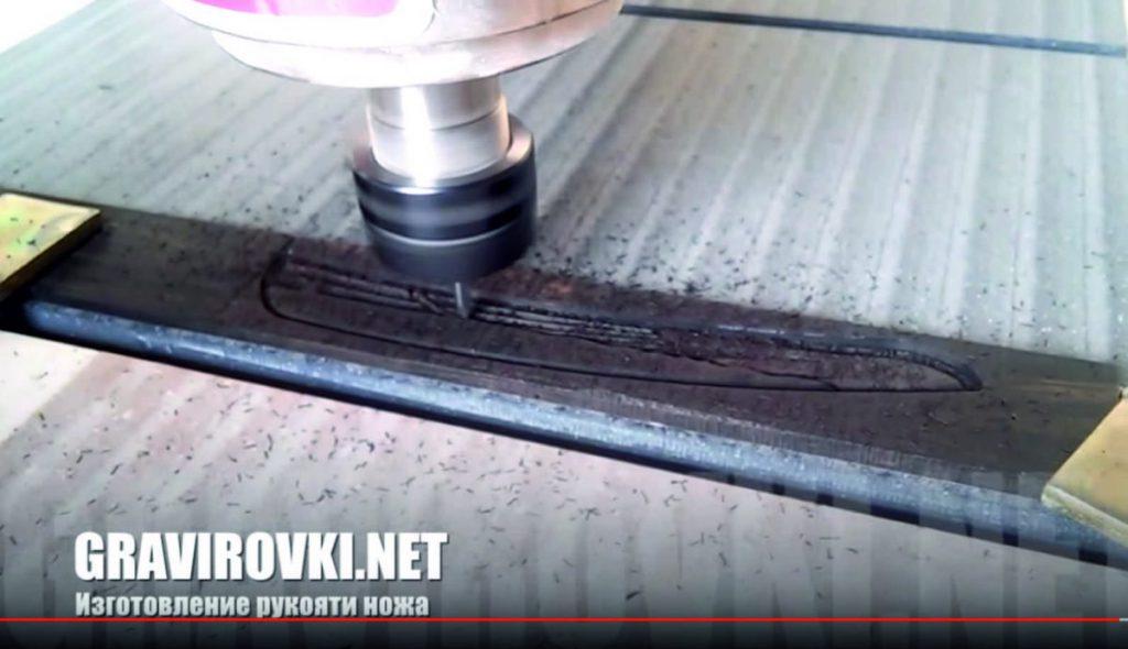 изготовление рукояти ножа