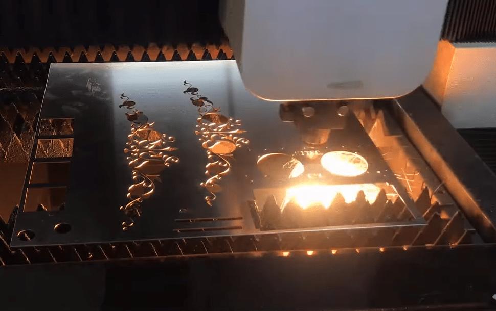 Лазерная резка металла в Киеве. Порезка нержавейки до 1,5 мм.